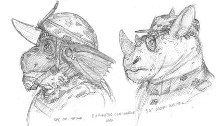 Horned Beast Infantry