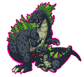 Kaiju Senior Kaiju Junior