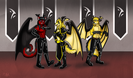 Jyraneth Clan Reunion by Keetah Spacecat