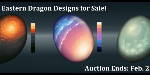 Eastern Dragon Eggs for Sale! [Custom Designs]