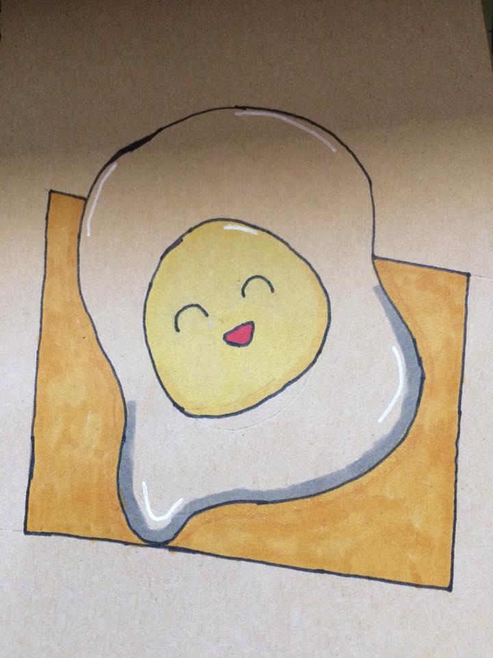Most recent image: happy egg