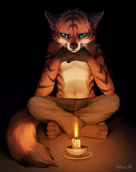 A State of Zen - Art by Falvie
