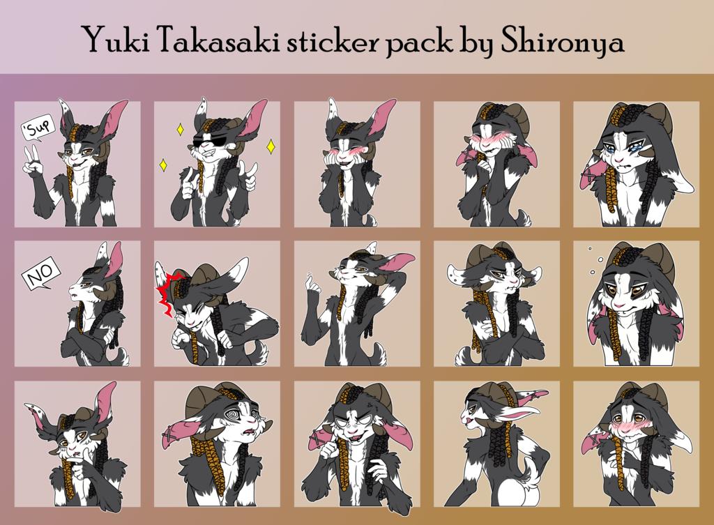 Yuki Bun Telegram sticker pack