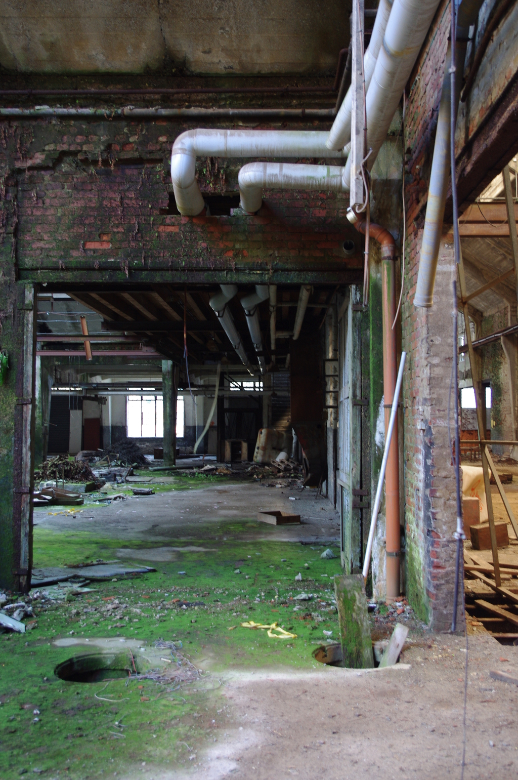 An abandoned factory 6
