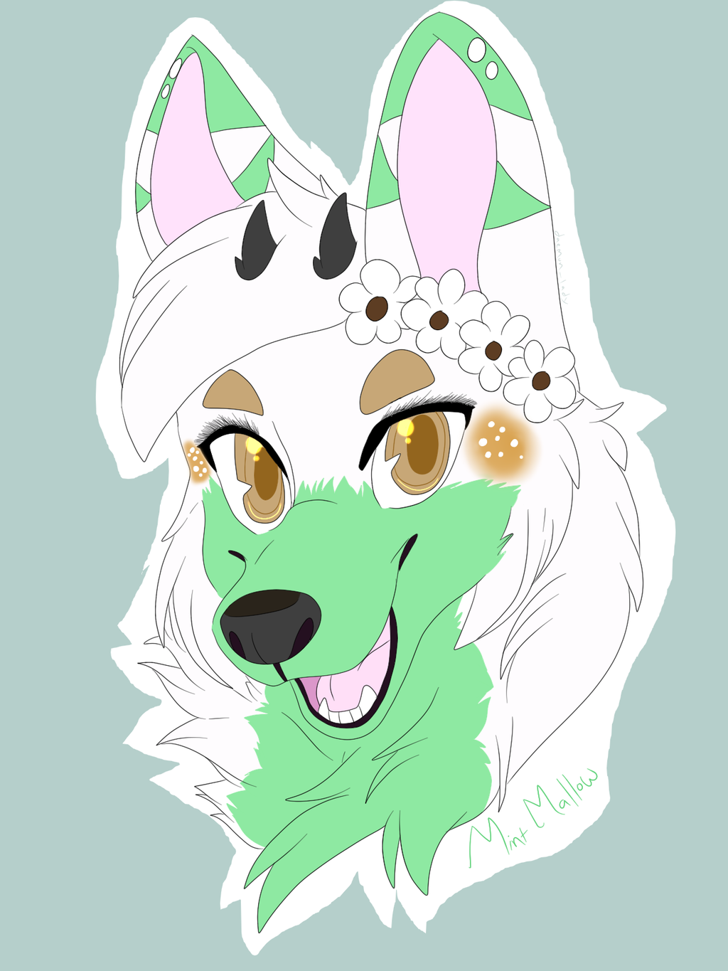 Badge Commission for Mint Mallow