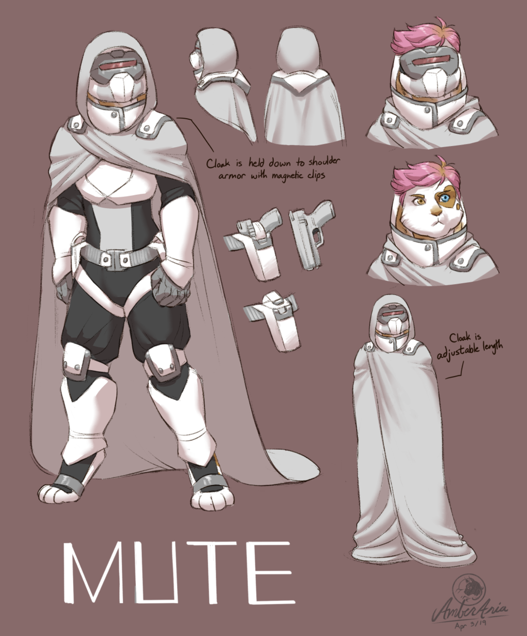 Mute Character Design