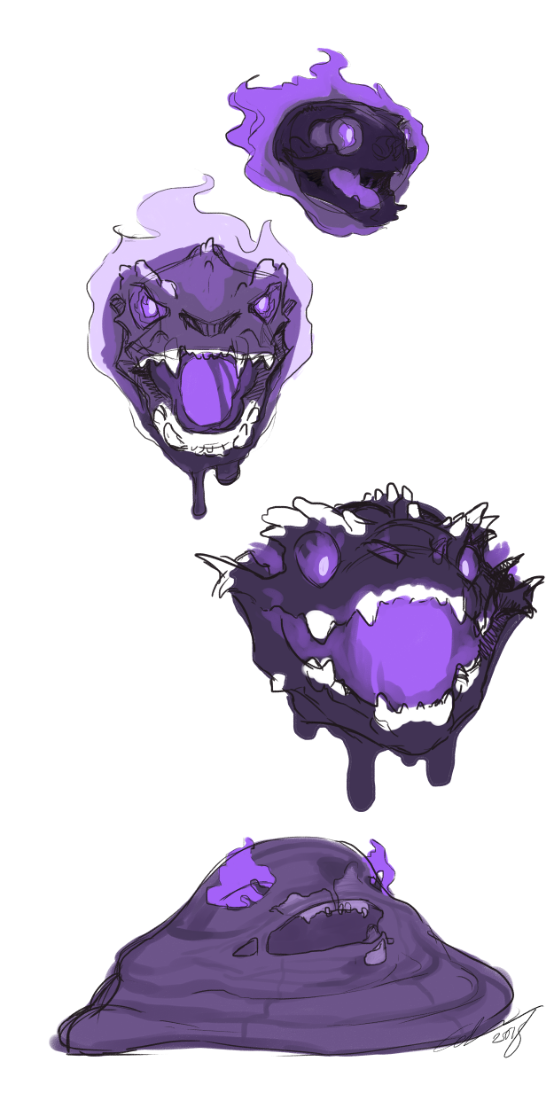 Ghastly to Muk