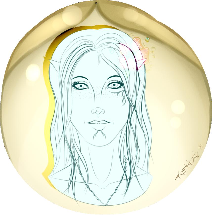 Free Sketch 10 - Feralyn Mahariel