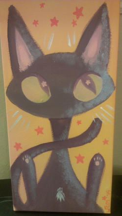 cat sith painting