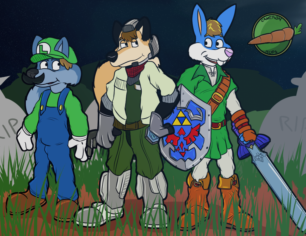 Most recent image: Halloween 2017 (Nintendo Theme)!