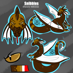 Snibbles +Flatcolor Character Reference Commission+