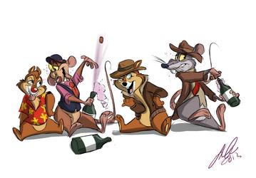 A ranger party