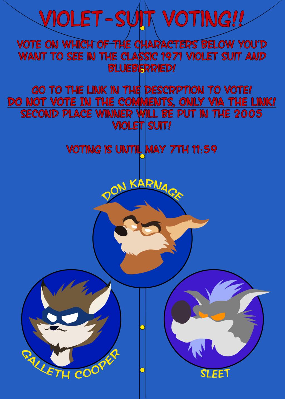 Violet Suit Voting Contest! (READ DESCRIPTION)