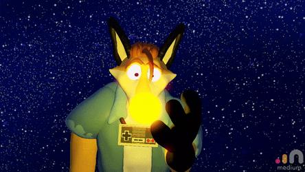 Solar Fox (animated)