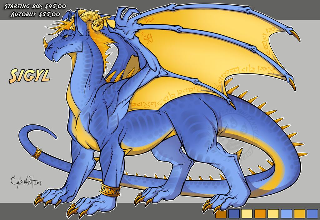 Sigyl Adoptable Dragon Starting Bid $45