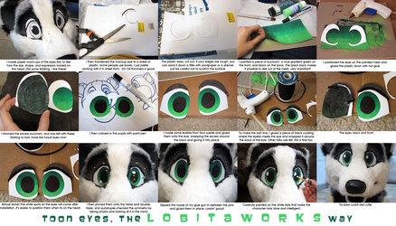 Toon Fursuit Eye Tutorial