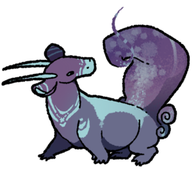 monster 3 - space skunk
