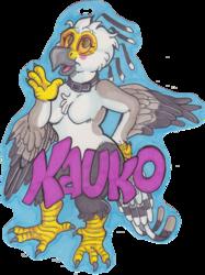 Kauko badge by Kilcodo