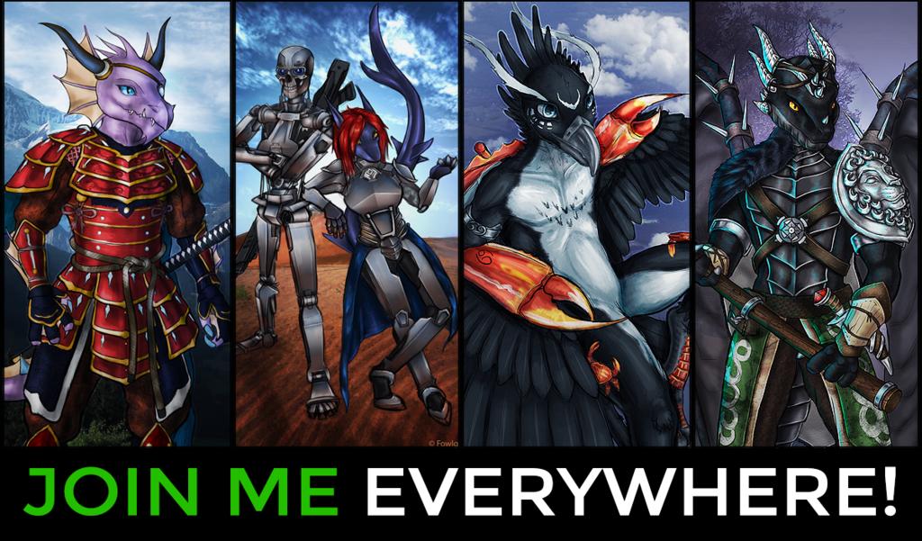 Follow Me EVERYWHERE!