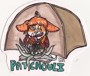 Patchouli Tent Badge