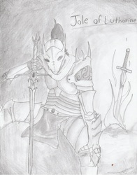 The Silver Dragon Knight: Jole of Lutharine