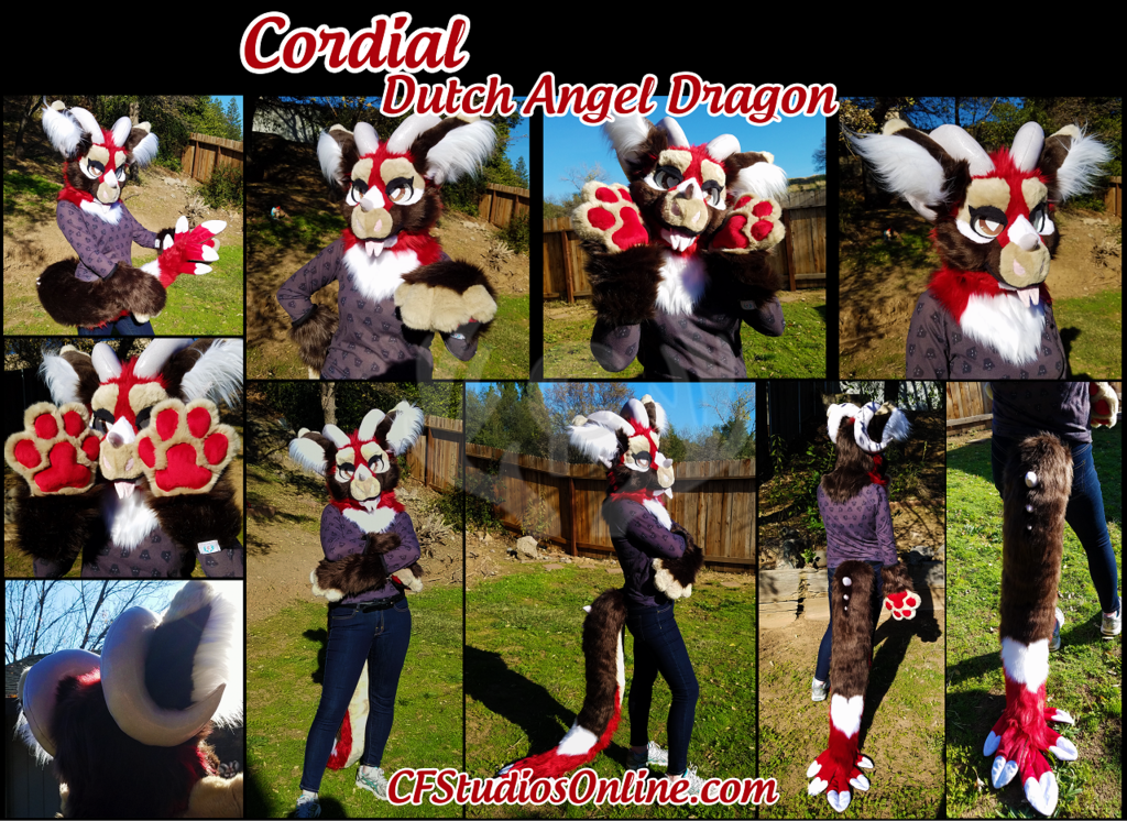 CHARITY AUCTION - Cherry Cordial Dutch Angel Dragon Partial