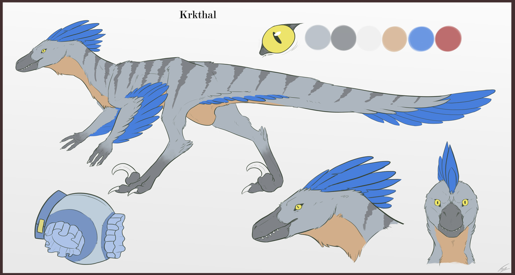Most recent image: Krkthal Ref. Sheet (SFW)