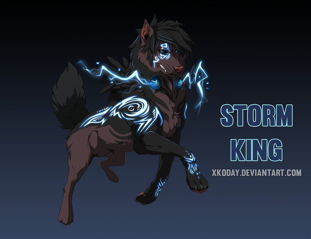 [Adoptable] Storm King (Sold)
