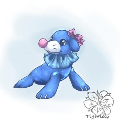 Haupia The Popplio Weasyl