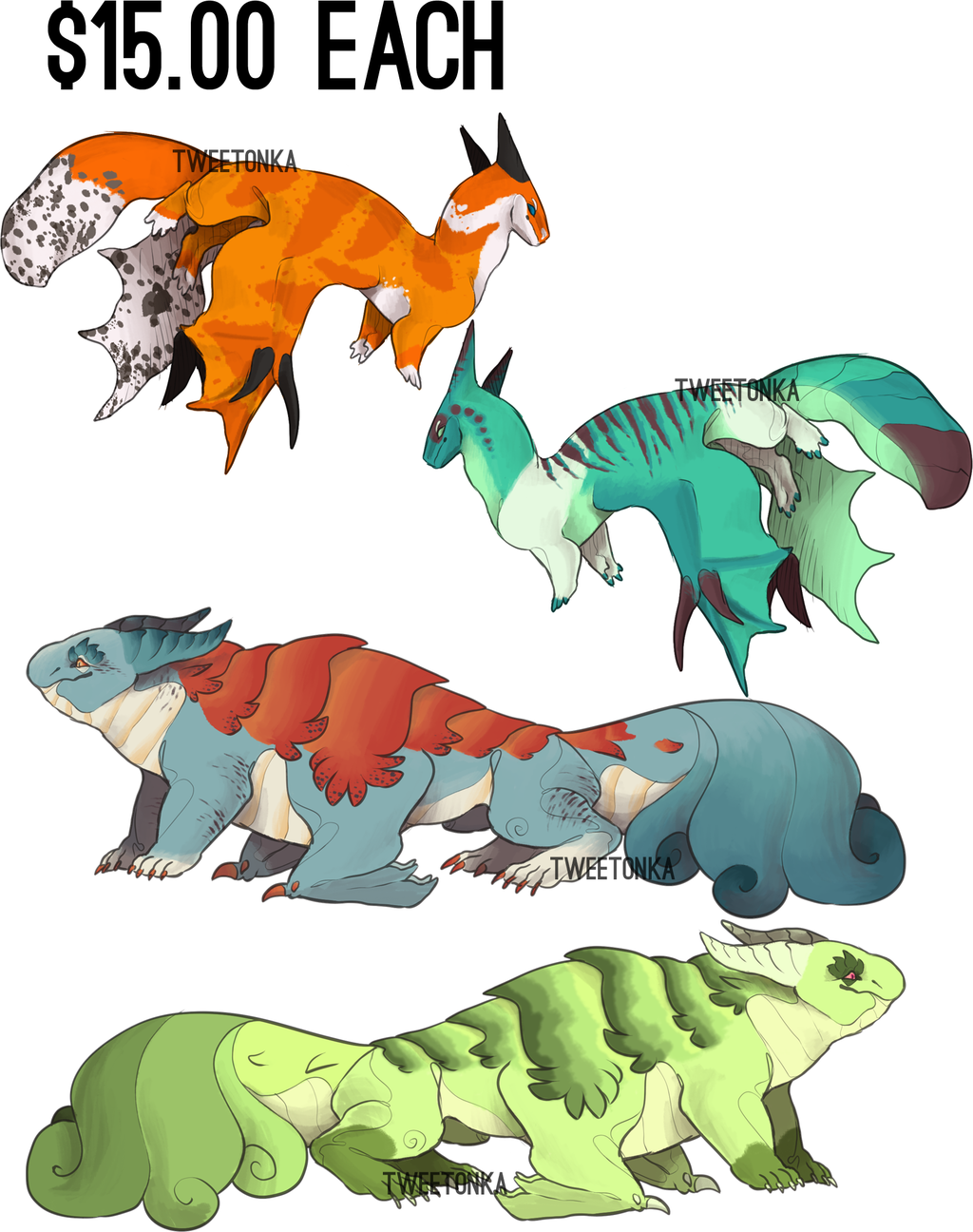 [Adopts] Collab'd Lap Lizards // 3/74 OPEN