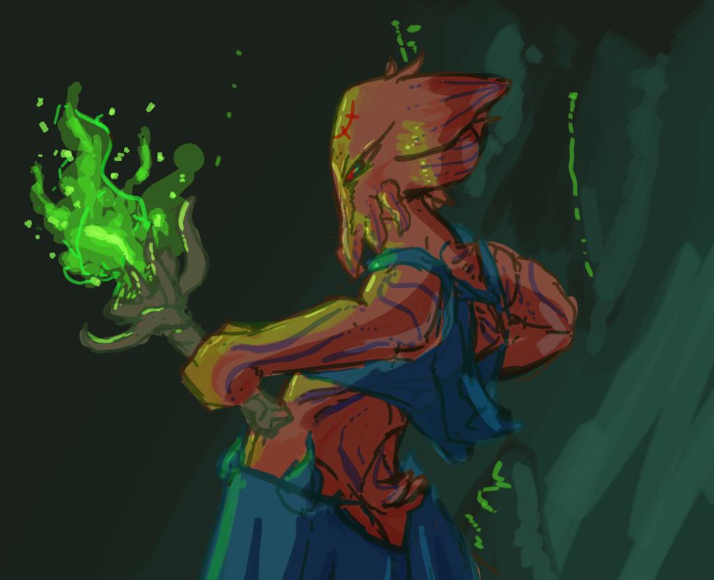 Squidish Sorcerer