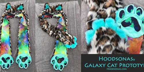 Hoodsonas V2 Galaxy Cat
