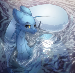 Aquatic Furdragon