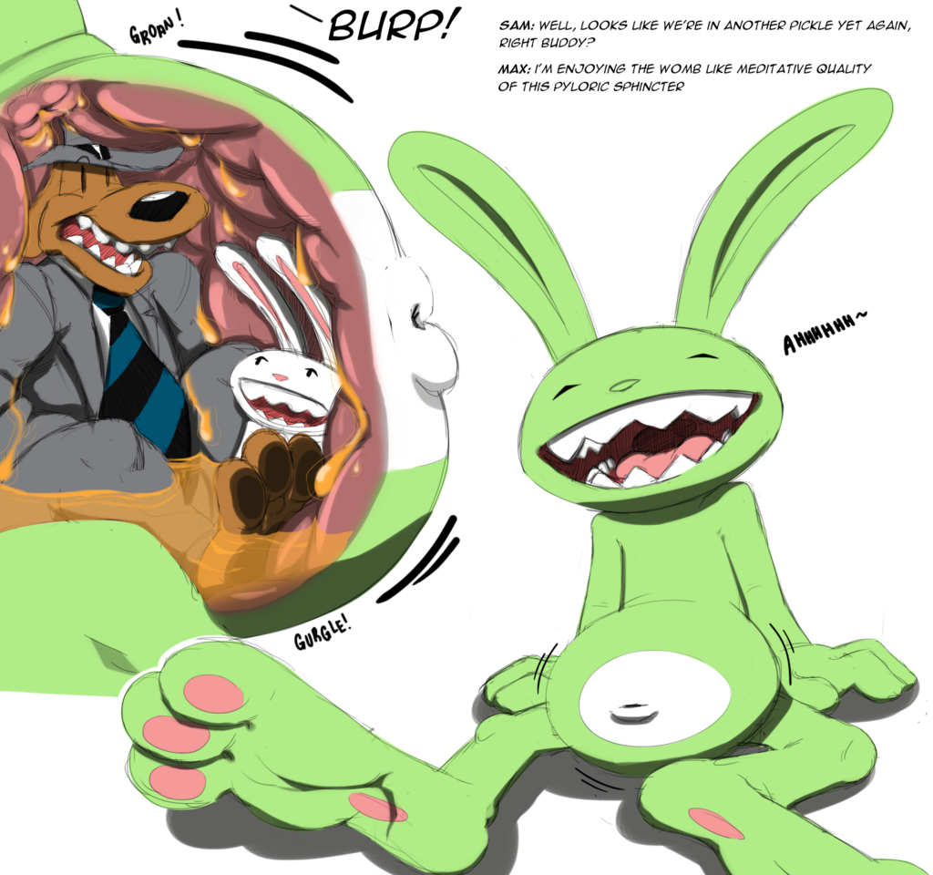 Most recent image: Quick Doodle - Sam and Max