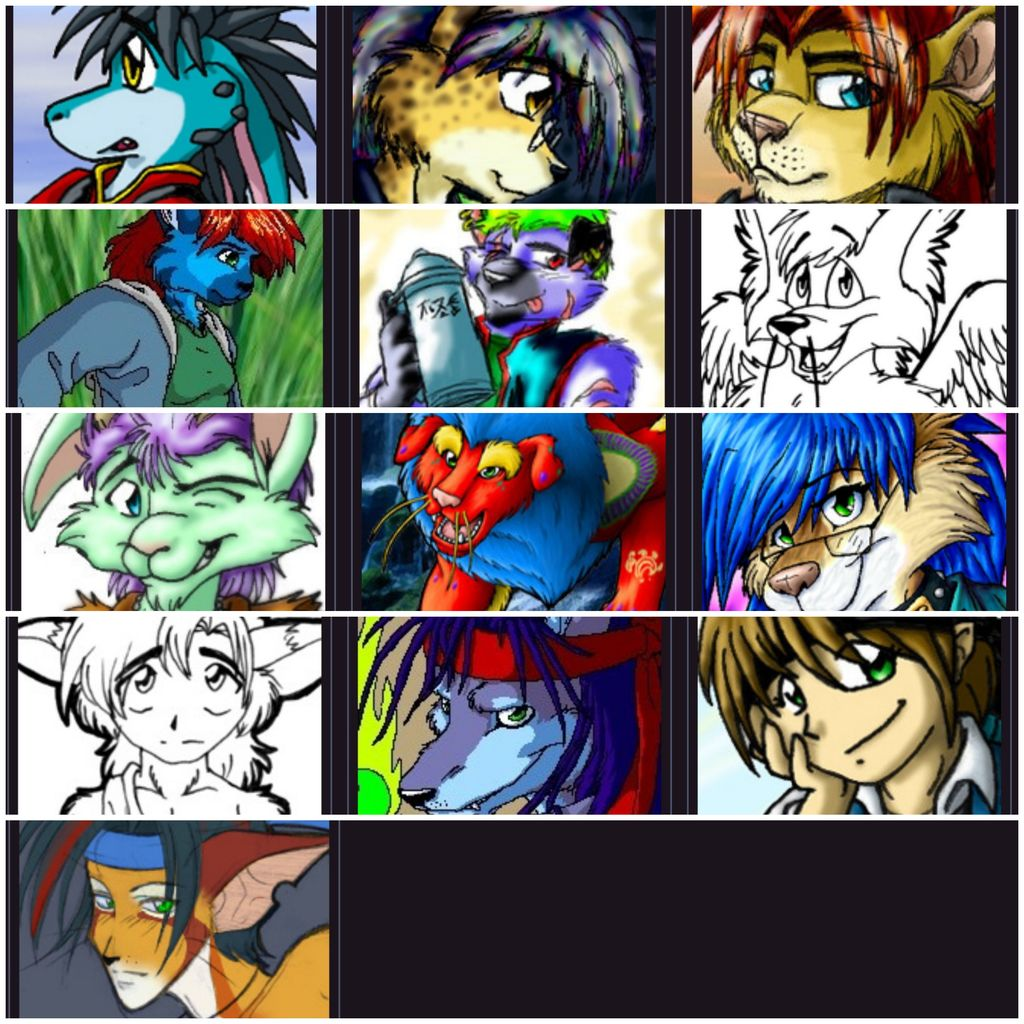 Most recent image: Retired OCs for sale/adoption