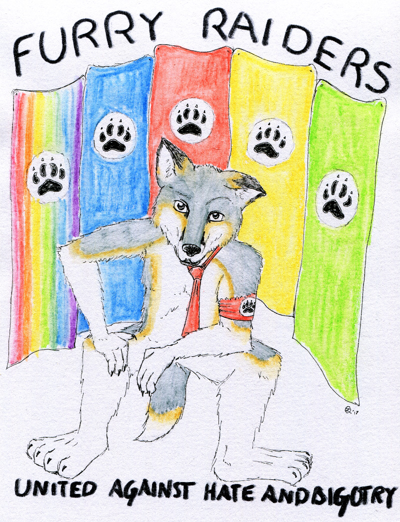 Most recent image: FURRY RAIDERS - United against hate