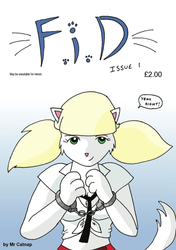 FiD Issue 1 Comic Cover