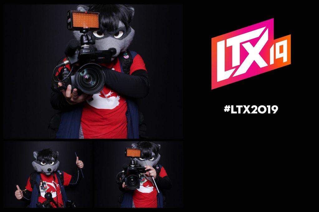 LTX 2019: A Raccoon Invades Linus Tech Tips!