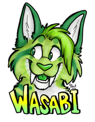 Wasabi Badge