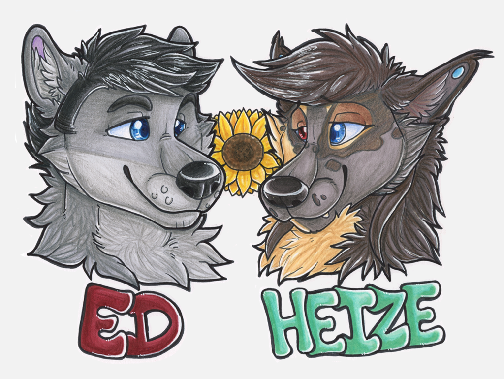 Ed and Heize couples badges