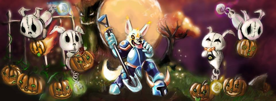 Featured Friday - Halloween: Soul Shinoda As Shovel Knight