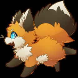 Cute small chibi fox [Tshirt Available]
