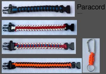 Paracord bracelets lot