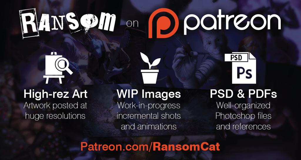 Ransom on Patreon