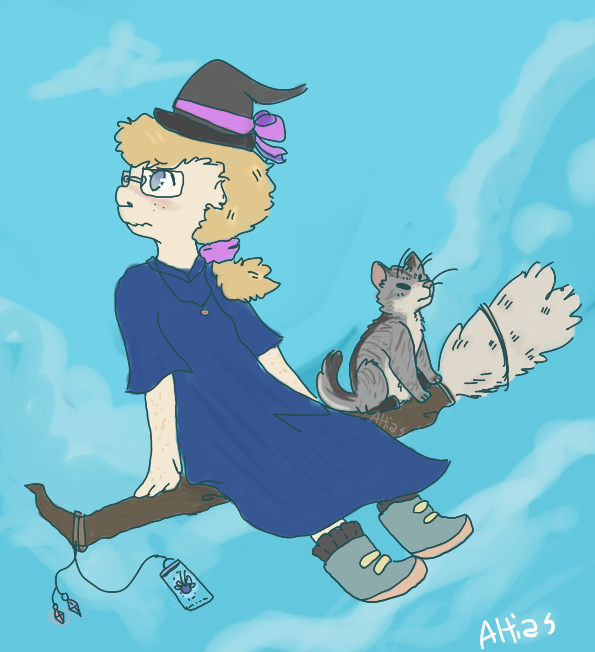 Most recent image: witchsona