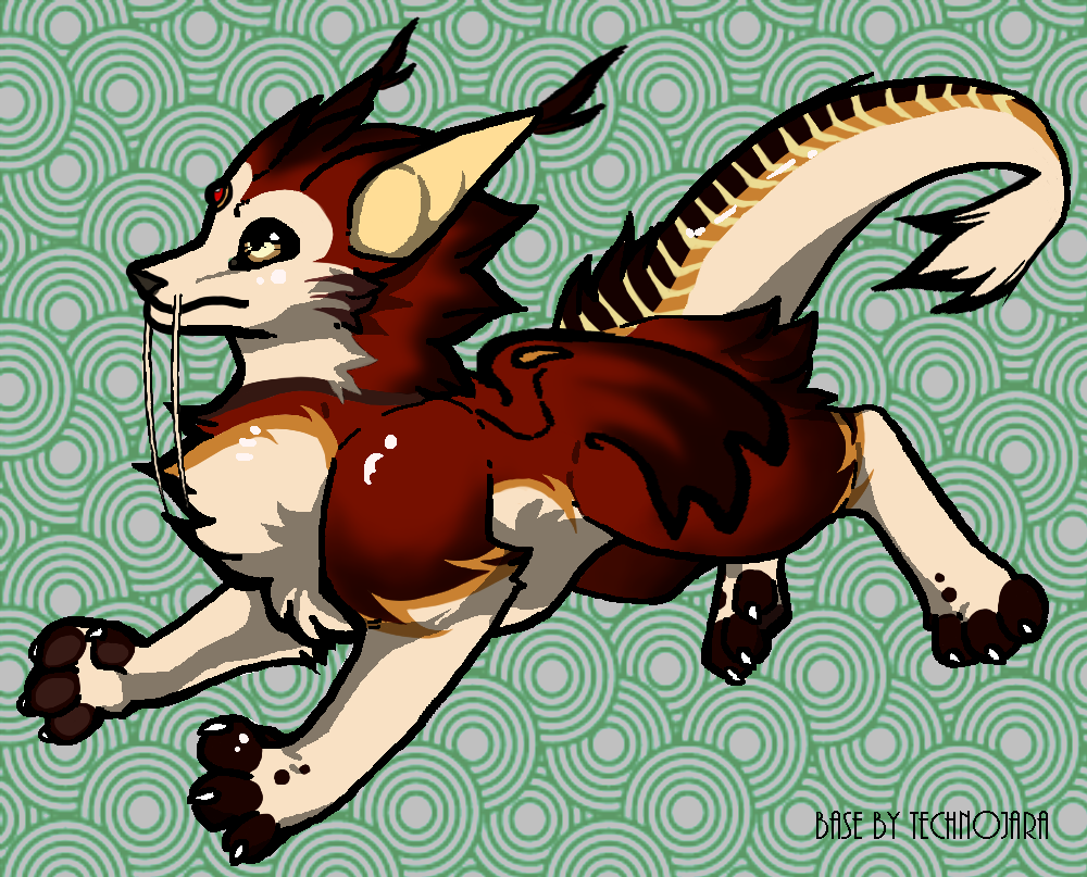Raja the Dragon Catte