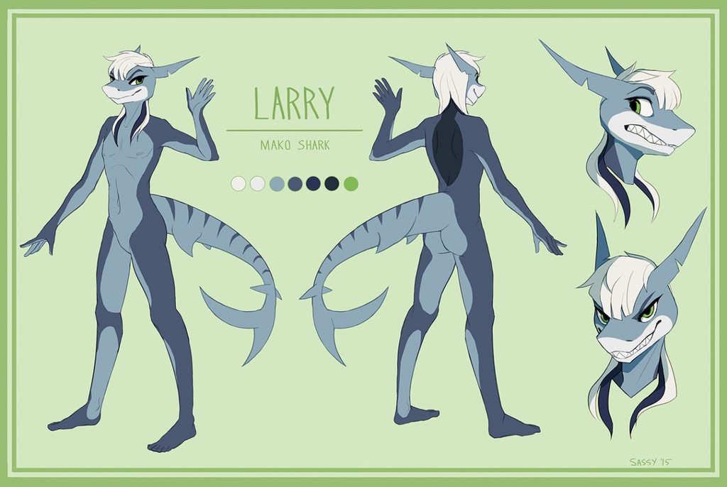 Larry Ref Sheet