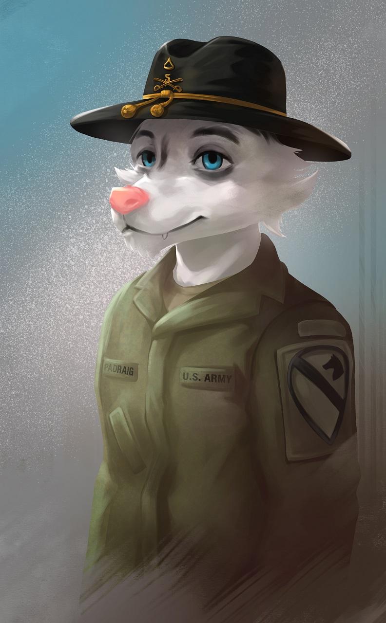 Cavalry Stetson Portrait [C]