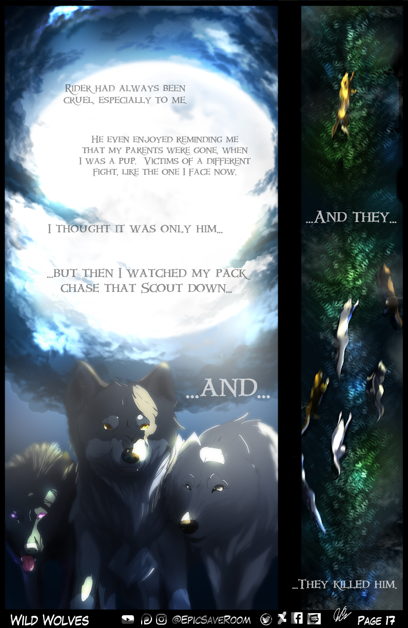 Wild Wolves - Page 17