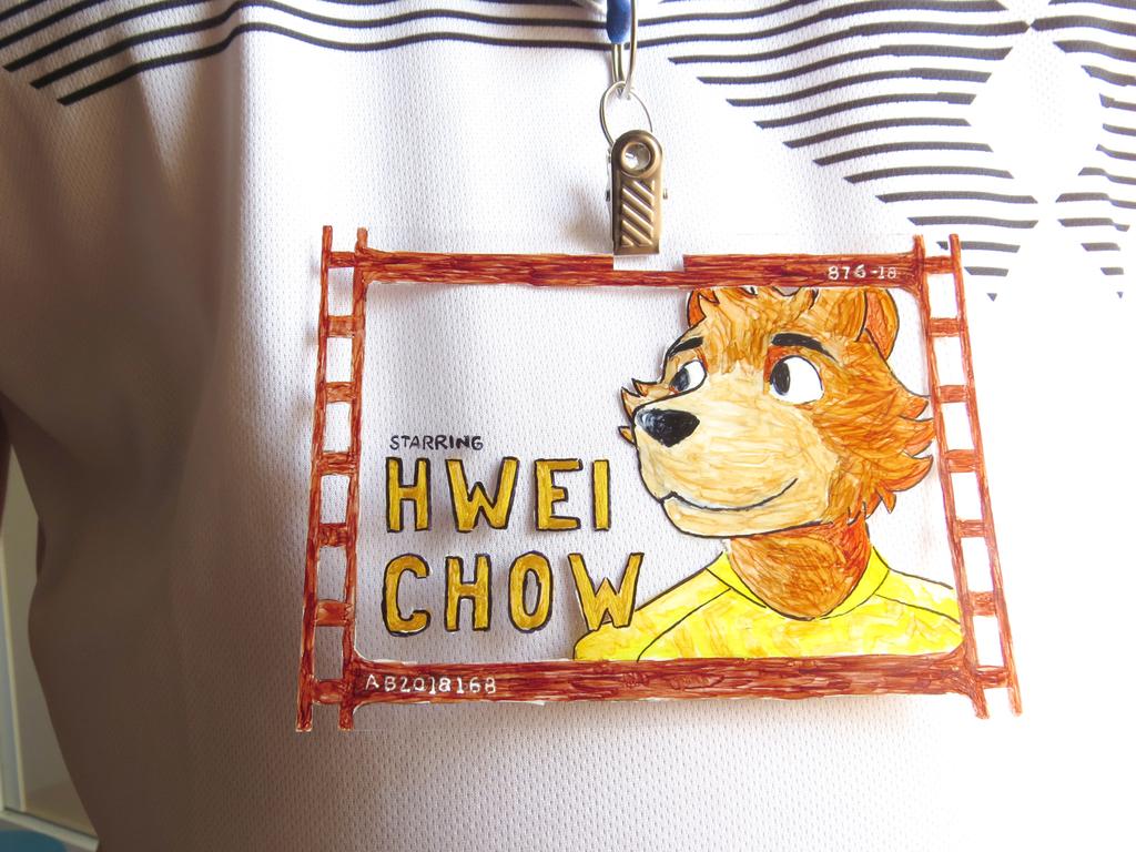 Badge for Brasil FurFest